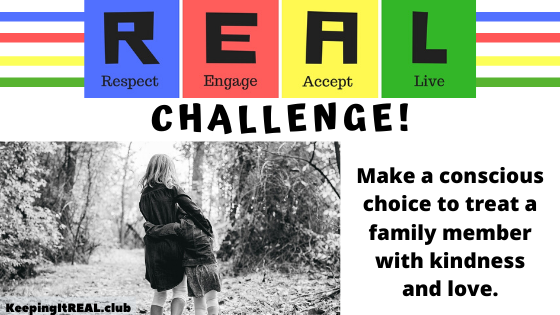 Challenge: Be Kind to Family