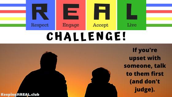 Challenge: Talk First