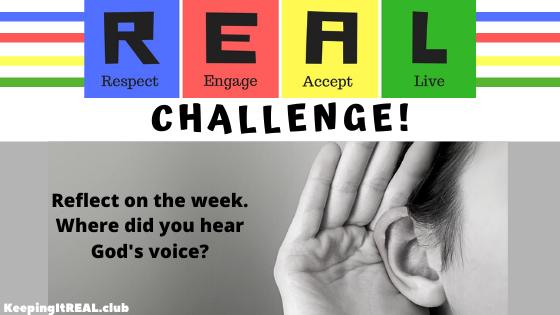 Challenge: Hear God's Voice