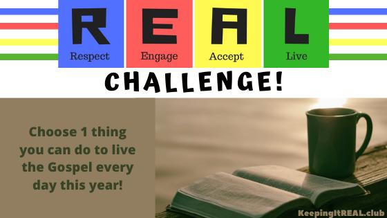 Challenge: Live the Gospel!