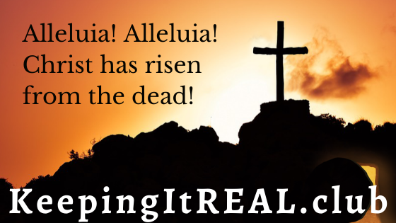 Alleluia! Christ has risen from the dead!