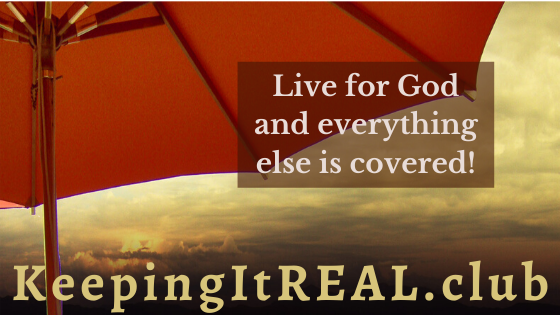 Live for God and everything else is covered.